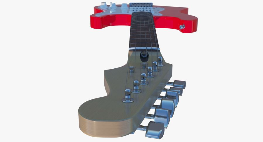 E-Gitarre royalty-free 3d model - Preview no. 15