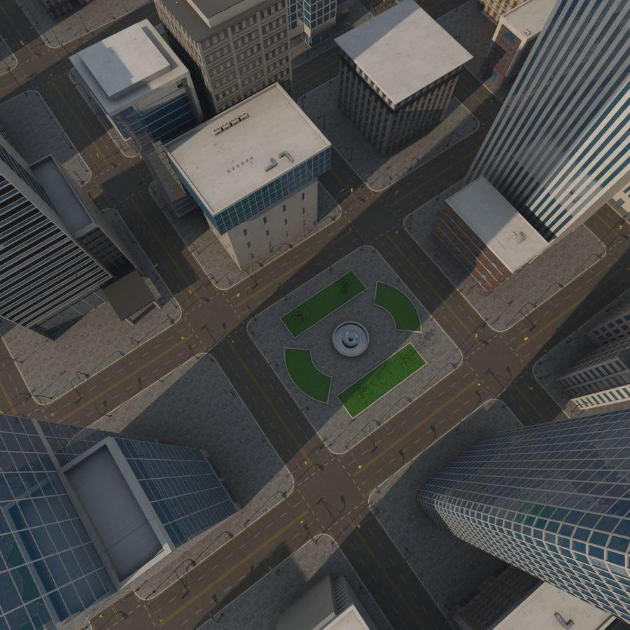 街並み royalty-free 3d model - Preview no. 3