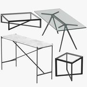 Mesas Modernas 3d model