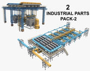 2 Industrial Parts Pack_2 3d model