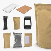 Food Packages 3D Models Collection 2 3d model