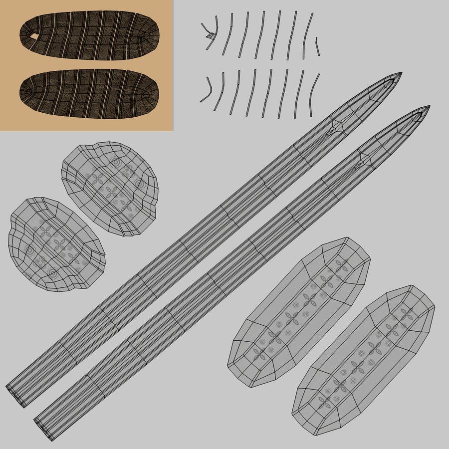 Espadas Vikingas royalty-free modelo 3d - Preview no. 19