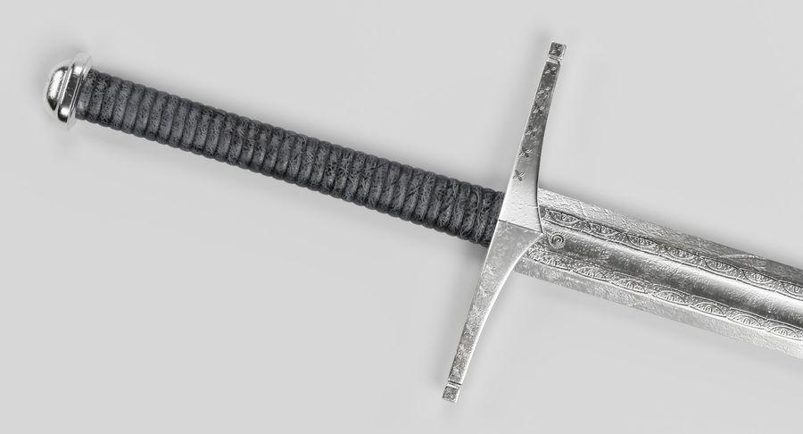 Espadas Vikingas royalty-free modelo 3d - Preview no. 11