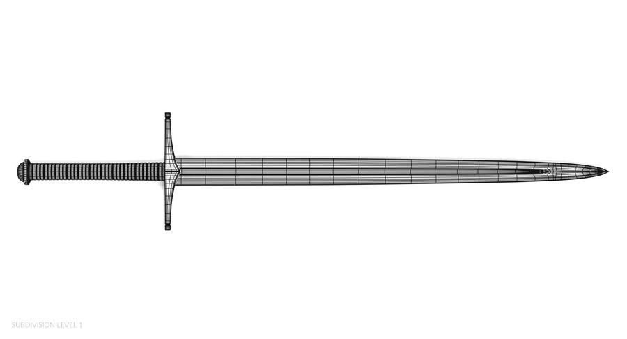 Espadas Vikingas royalty-free modelo 3d - Preview no. 25