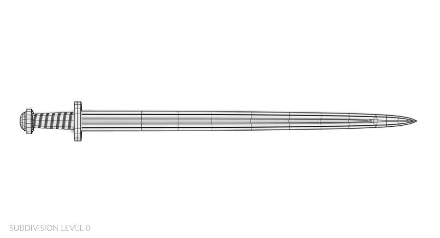 Мечи викингов royalty-free 3d model - Preview no. 26