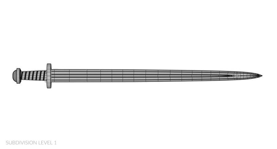 Мечи викингов royalty-free 3d model - Preview no. 27