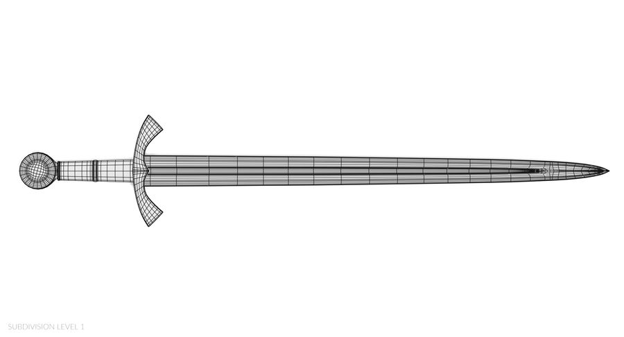 Мечи викингов royalty-free 3d model - Preview no. 23