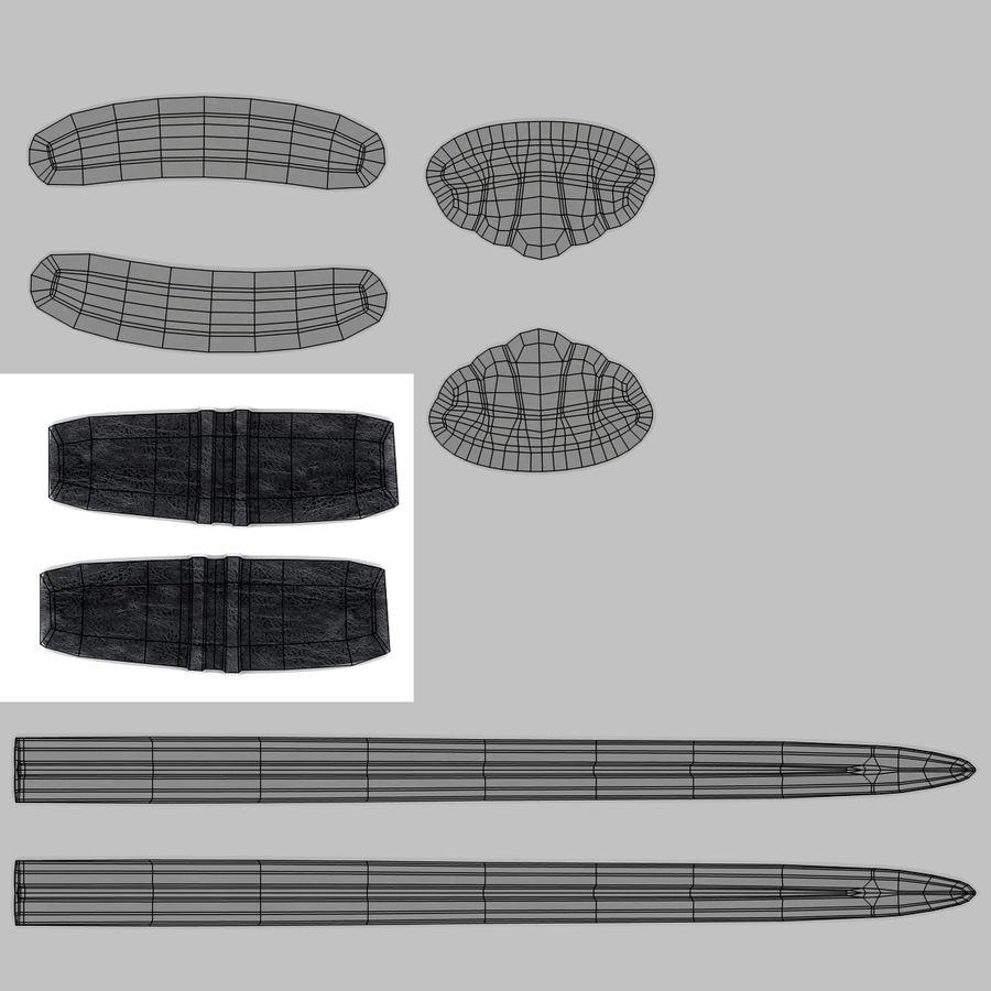 Espadas Vikingas royalty-free modelo 3d - Preview no. 16
