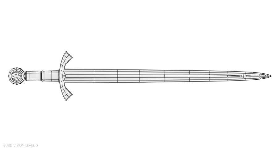 Espadas Vikingas royalty-free modelo 3d - Preview no. 22