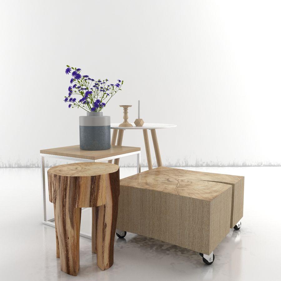 Collection de meubles royalty-free 3d model - Preview no. 33