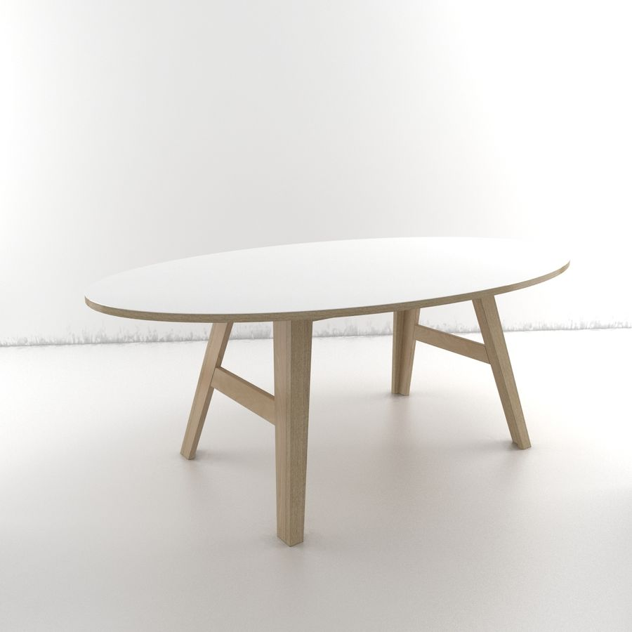 Coleção Furniture royalty-free 3d model - Preview no. 7