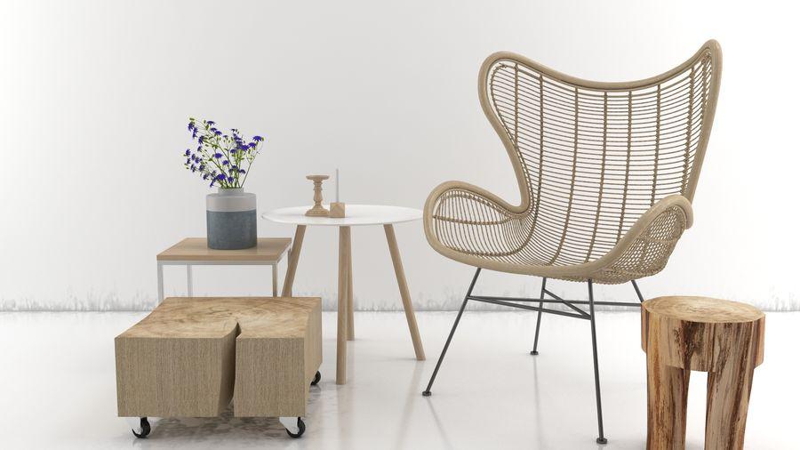 Coleção Furniture royalty-free 3d model - Preview no. 1