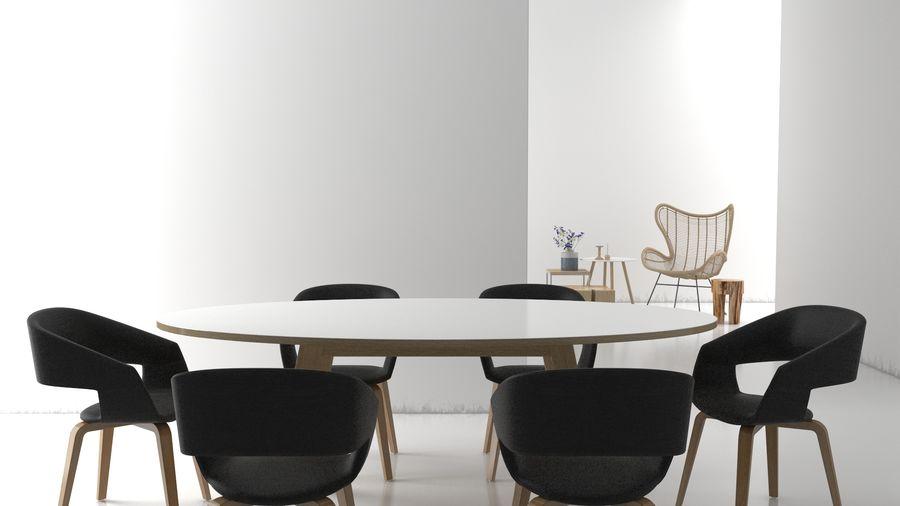 Collection de meubles royalty-free 3d model - Preview no. 3