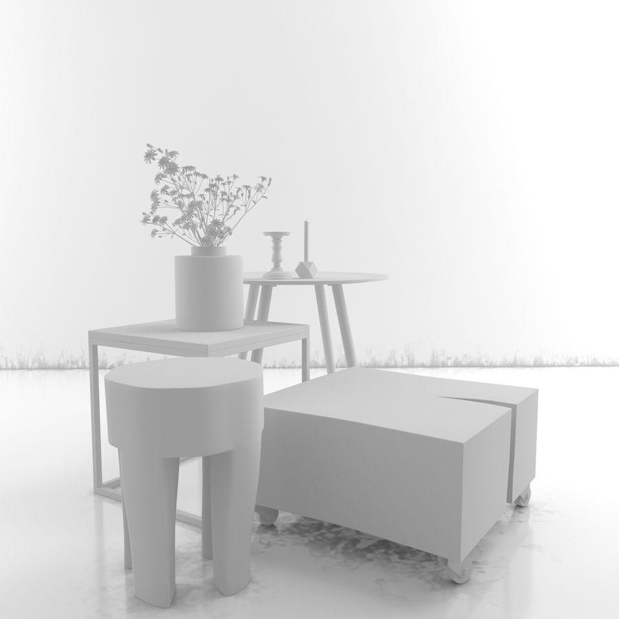Collection de meubles royalty-free 3d model - Preview no. 34