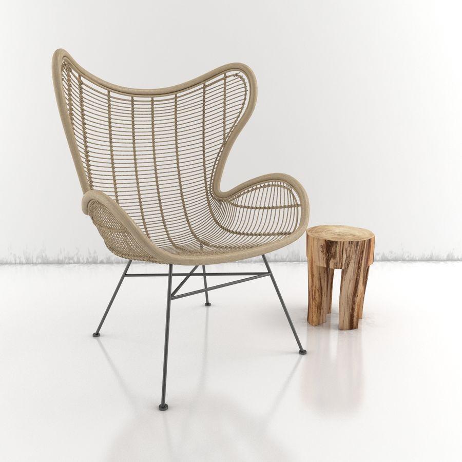 Coleção Furniture royalty-free 3d model - Preview no. 17