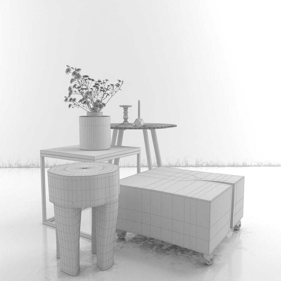 Coleção Furniture royalty-free 3d model - Preview no. 35
