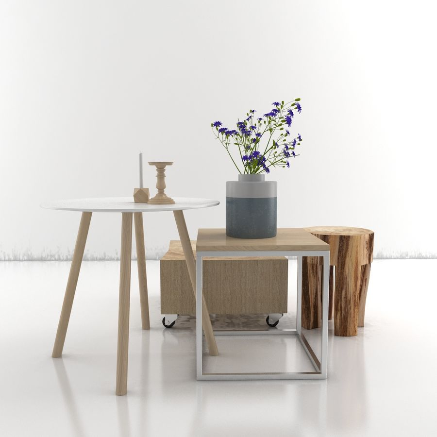 Collection de meubles royalty-free 3d model - Preview no. 32