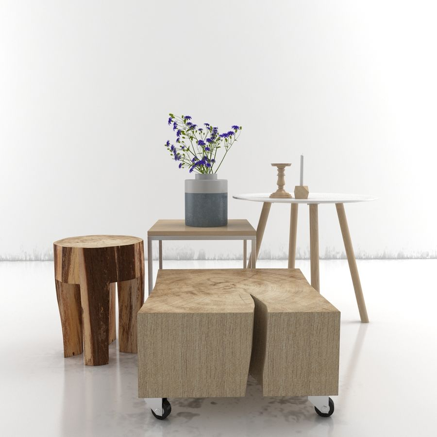 Collection de meubles royalty-free 3d model - Preview no. 30
