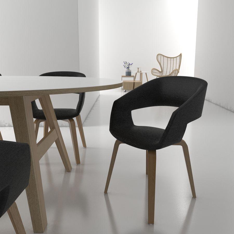 Collection de meubles royalty-free 3d model - Preview no. 2