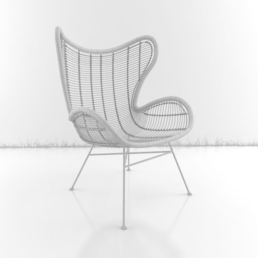 Coleção Furniture royalty-free 3d model - Preview no. 25