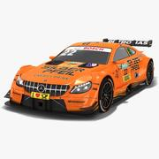 Mercedes-AMG C63 DTM # 22 Lucas Auer Saison 2018 3d model