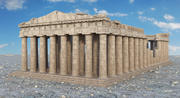The Parthenon 3d model