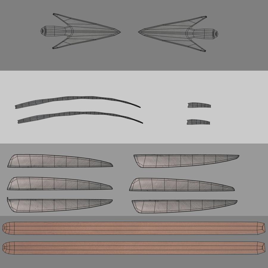 Setas; flechas royalty-free 3d model - Preview no. 19