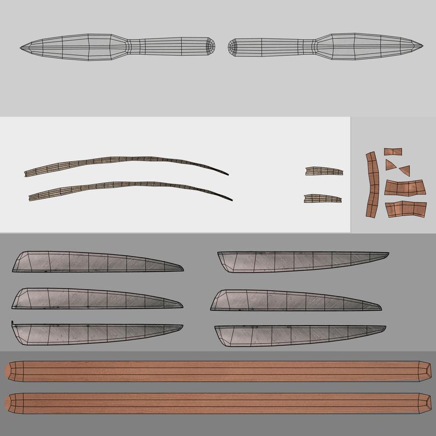 Setas; flechas royalty-free 3d model - Preview no. 18