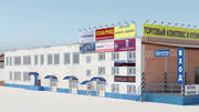 City Building 24. Strutture industriali. Magazzino. 3d model