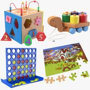 子供のおもちゃコレクション 3d model