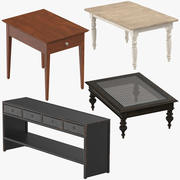 Traditional Tables 3d model