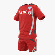 Soccer Uniform 2 3d model
