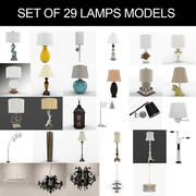 Lampensammlung 3d model