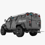 Pit-Bull VX SWAT Truck 01 3d model
