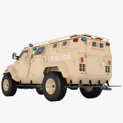 Pit-Bull VX SWAT Truck 02 3d model