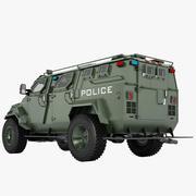 Pit-Bull VX SWAT Truck 03 3d model