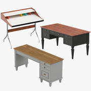 Desks Collection 3d model