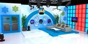 Tv Studio 2 3d model