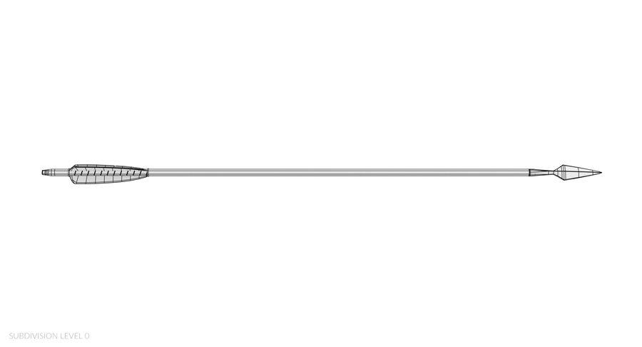 Pil och båge royalty-free 3d model - Preview no. 24