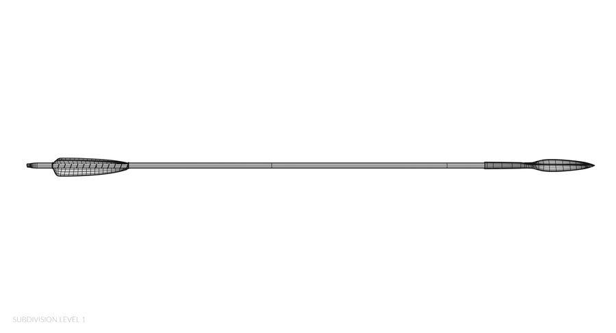 Pil och båge royalty-free 3d model - Preview no. 29