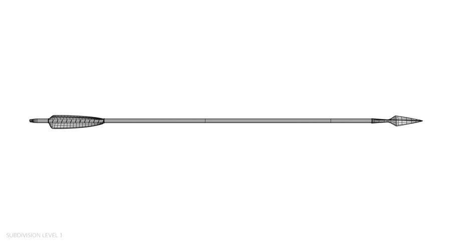 Pil och båge royalty-free 3d model - Preview no. 25