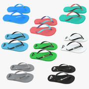Flip Flop Collection 3d model
