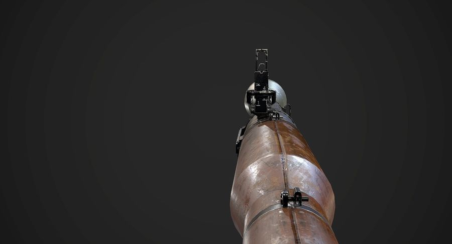 AAA Game Weapons Collection Vol.1 royalty-free modelo 3d - Preview no. 27