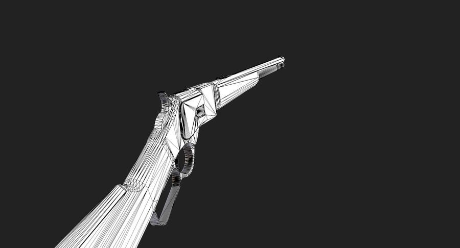 AAA Game Weapons Collection Vol.1 royalty-free modelo 3d - Preview no. 35