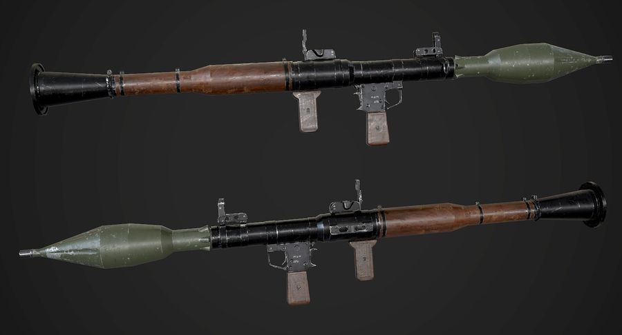 AAA Game Weapons Collection Vol.1 royalty-free modelo 3d - Preview no. 23