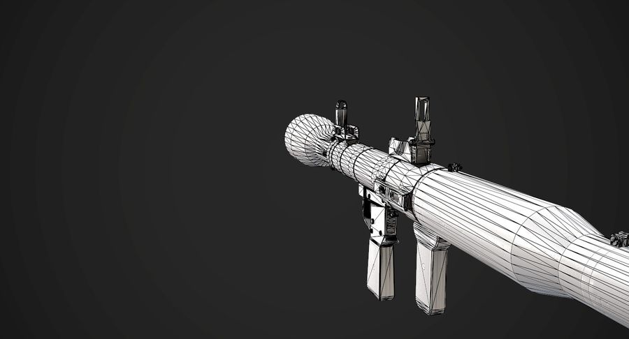 AAA Game Weapons Collection Vol.1 royalty-free modelo 3d - Preview no. 26
