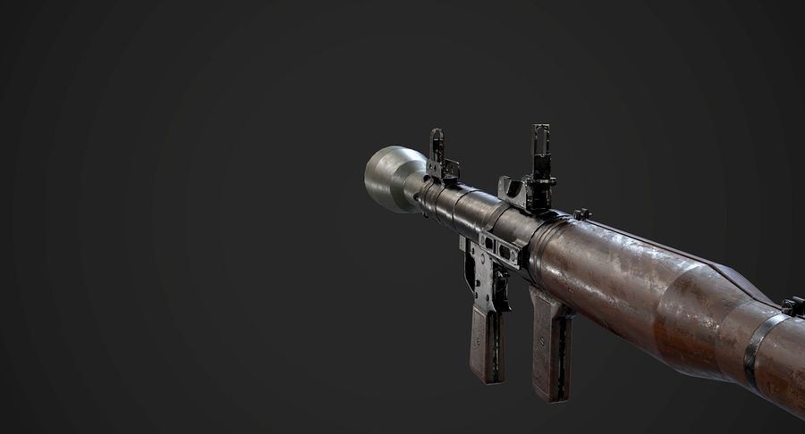AAA Game Weapons Collection Vol.1 royalty-free modelo 3d - Preview no. 25