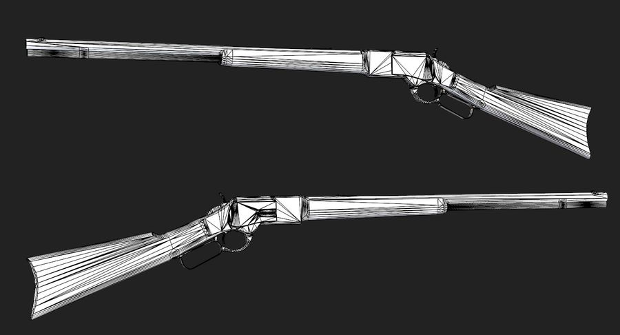 AAA Game Weapons Collection Vol.1 royalty-free modelo 3d - Preview no. 31
