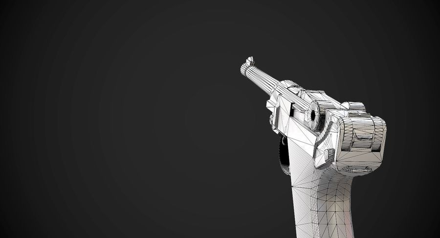 AAA Game Weapons Collection Vol.1 royalty-free modelo 3d - Preview no. 12