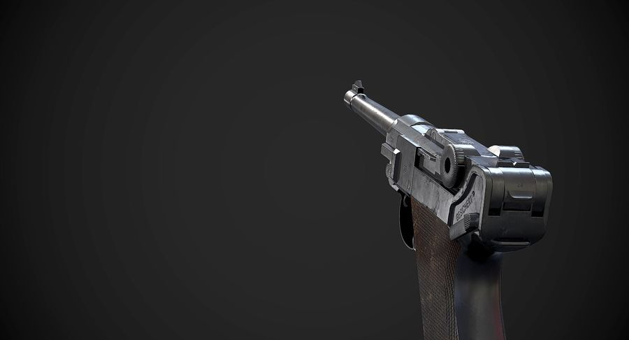 AAA Game Weapons Collection Vol.1 royalty-free modelo 3d - Preview no. 11